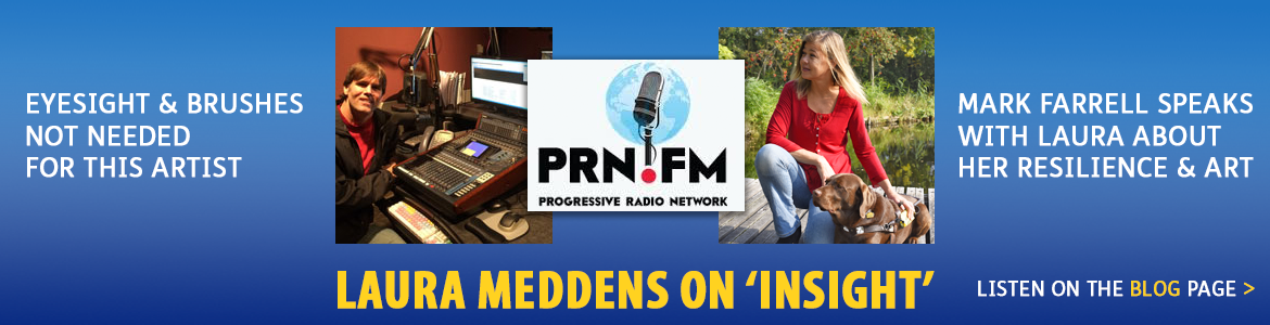 Laura Meddens on Insight Radio. Click to go to the interview.