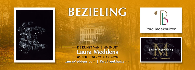 Bezieling - De kunst van binnenuit Laura Meddens. 05 februari tot 27 maart. Fotos: Tango, Parc Broekhuizen. Logos Parc Broekhuizen, LauraMeddens Fine Art and Limited Editions.